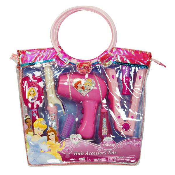 Princess Hair Styling Tote Assortment