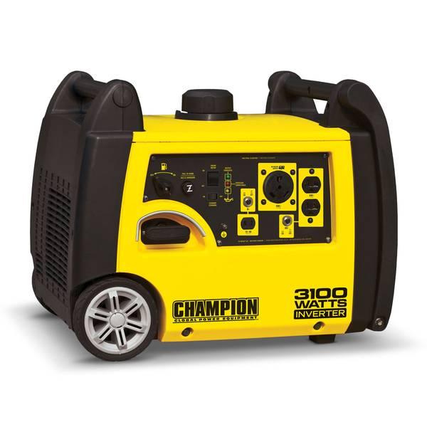 3100-Watt RV Ready Portable Inverter Generator