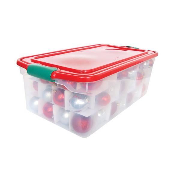 Homz Ornament Storage Box
