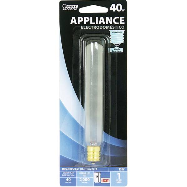 40 Watt Incandescent T6 1/2 Bulb