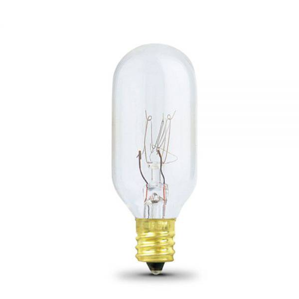 15 Watts Incandescent Bulb with Candelabra Base