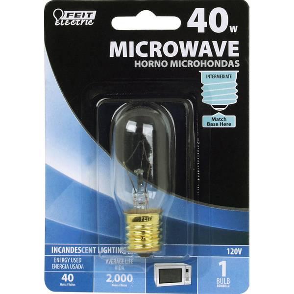 Feit Electric 40 Watt Incandescent T8 Microwave Light Bulb