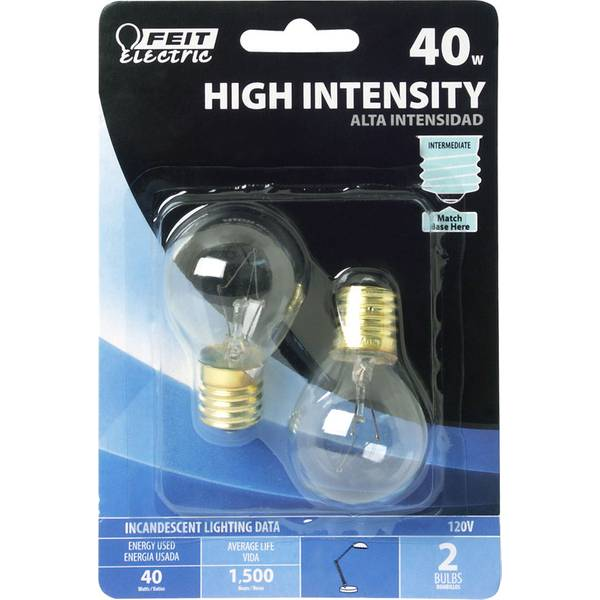 Utility Warehouse Free Light Bulb Replacement Service: FEIT Electric 40 Watt Incandescent S11 High Intensity