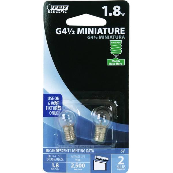 Miniature Mini Screw Bulbs