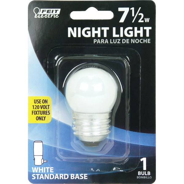 7.5 Watt Incandescent S11 Frost Night Light Bulb