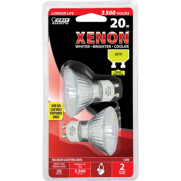 20 Watt Xenon Halogen MR16 Light Bulb