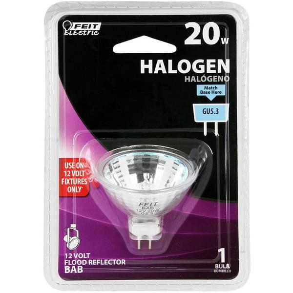 20 Watt Halogen MR16 Light Bulb