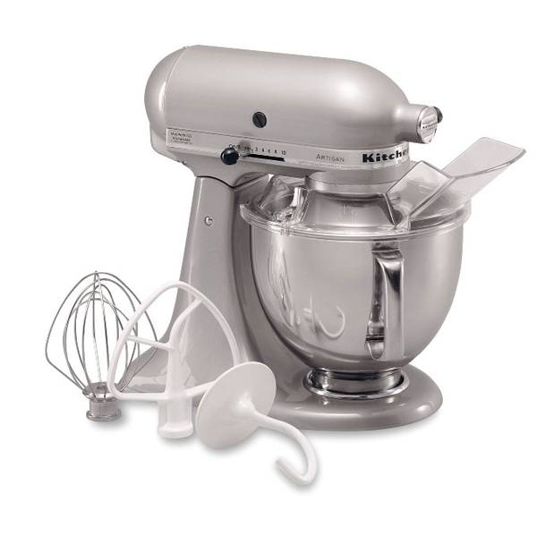 Kitchenaid chrome artisan stand mixer Kitchenaid artisan replacement parts