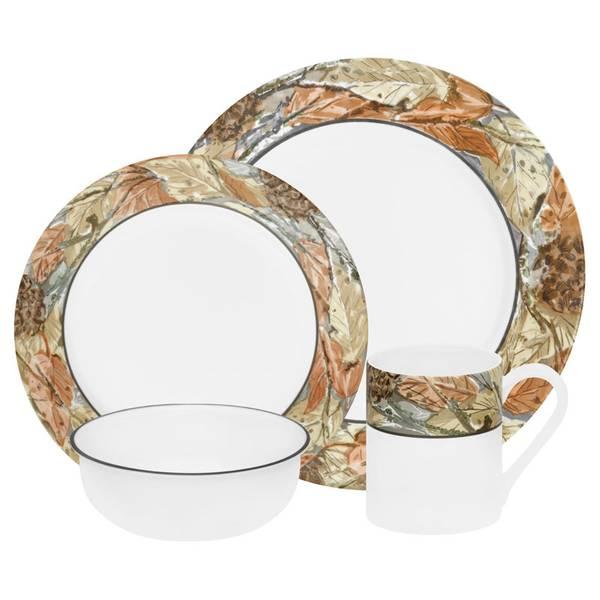 Impressions Woodland Leaves Dinnerware Set