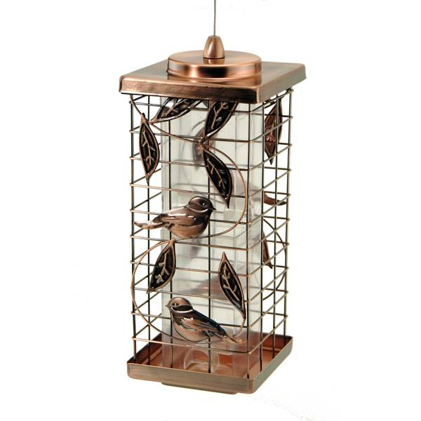 2 Port Caged Bird Feeder