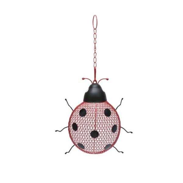 Ladybug Seed Feeder