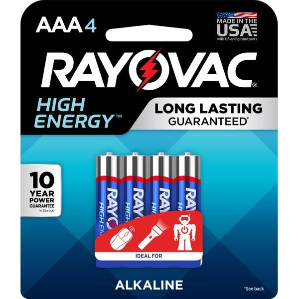 Ready Power AAA Alkaline Batteries 4-Pack