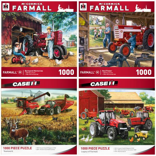 1000-Piece Farmall Puzzle Assortment