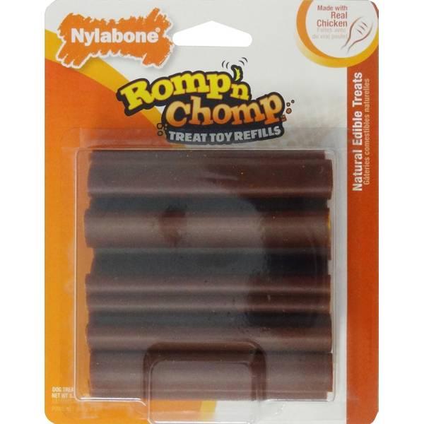 Romp N' Chomp Dog Treat Toy Refills