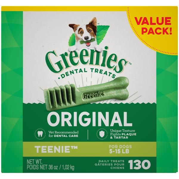 Canine Dental Chews Value Tub