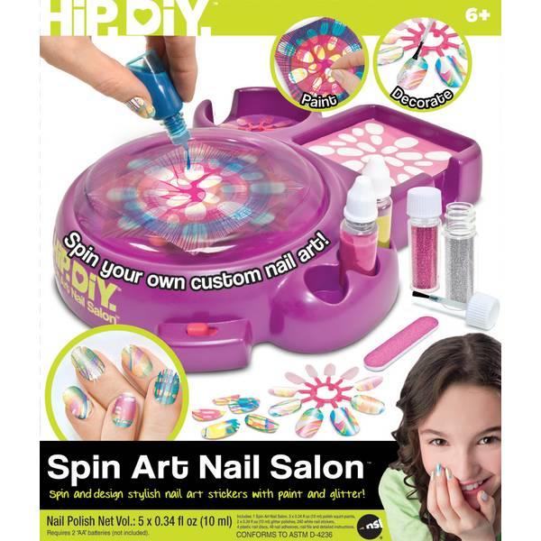 NSI Spin Art Nail Salon