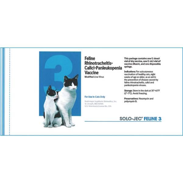 Feline 3 Rhinotracheitis-Calicivirus-Panleukopenia