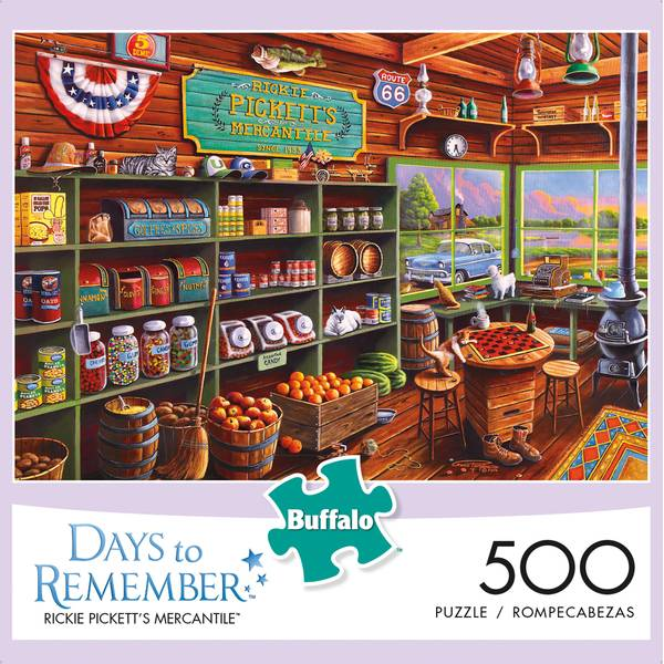500-Piece Days to Remember Puzzle Assortment