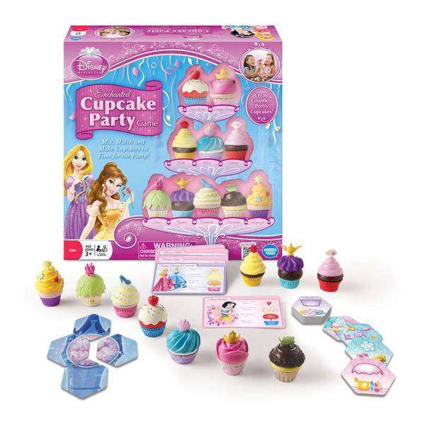 Princess Enchanted Cupcake Party Game