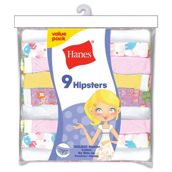Girls' Hipster Panties