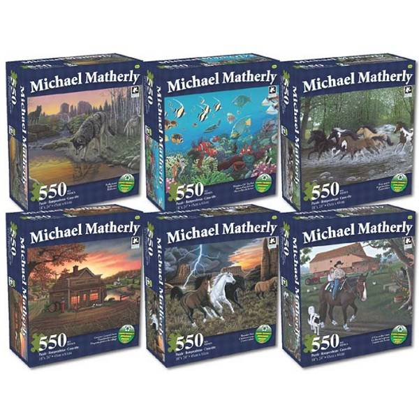 The Art Of Michael Matherly Puzzle Assortment