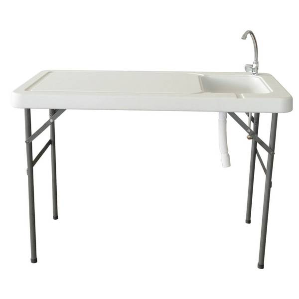 Larin fish and game cleaning table for Fish and game table