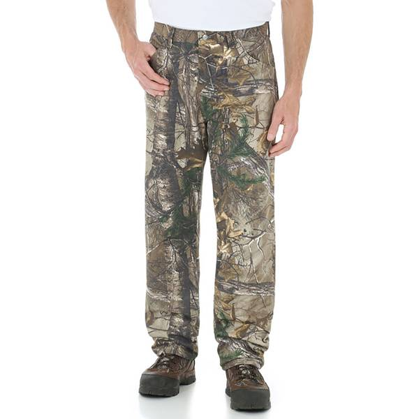 c4f5c2c3 Men's 5 Pocket Realtree All Purpose Xtra Camo Jeans. Wrangler ...