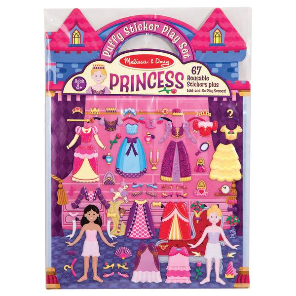 Puffy Sticker Princess Play Set