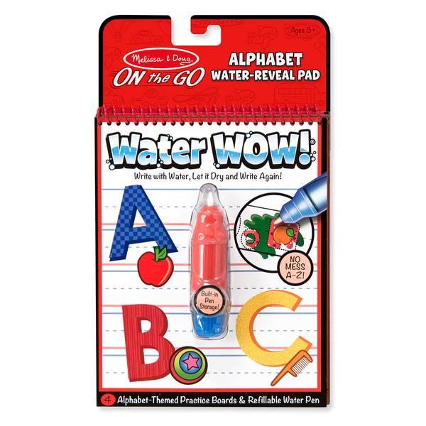 Water WOW! Alphabet Activity Book