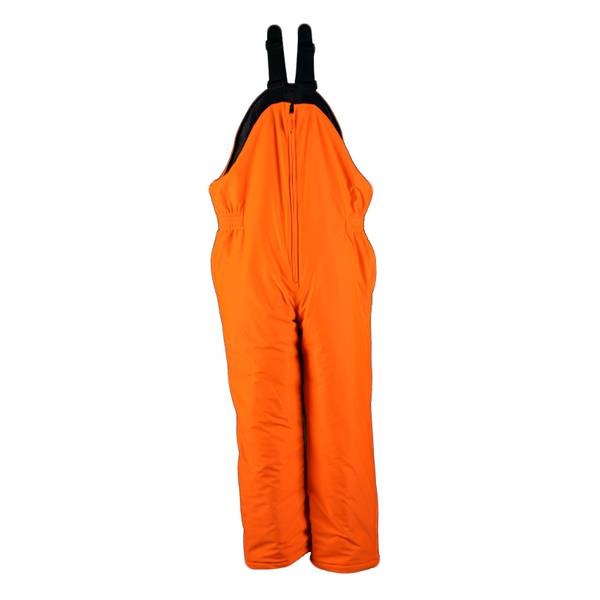 Gamehide Big Men's Blaze Orange Deer Camp Insulated Hunting Bib Overalls