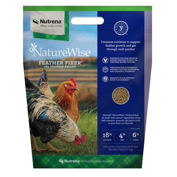 NatureWise Feather Fixer Chicken Feed