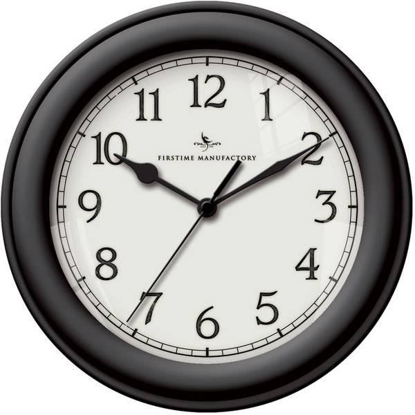 Black Essential Wall Clock