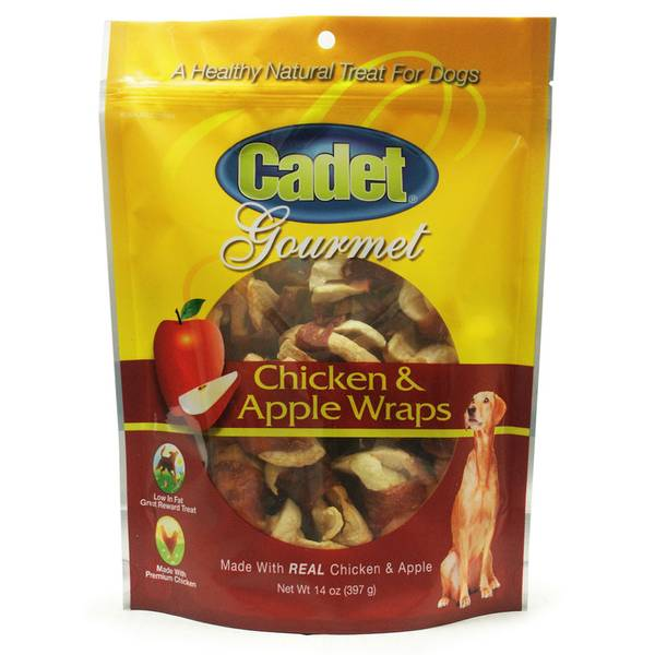 Apple & Chicken Wraps Dog Treats