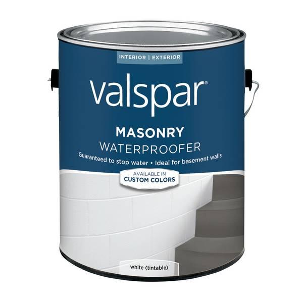 Valspar White Latex Masonry Waterproofer