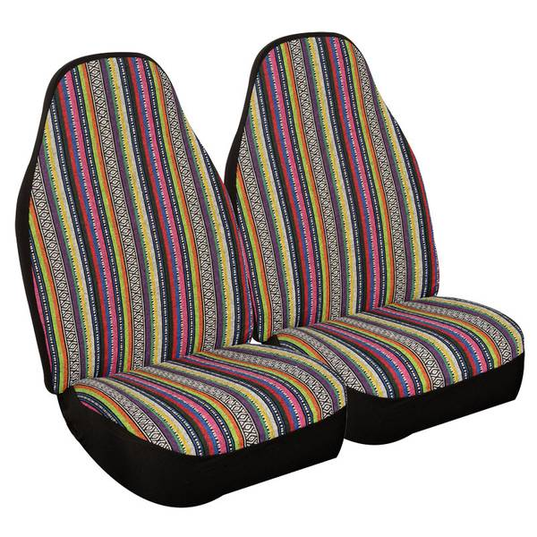 Prairie Stripe Universal Bucket Seat Covers