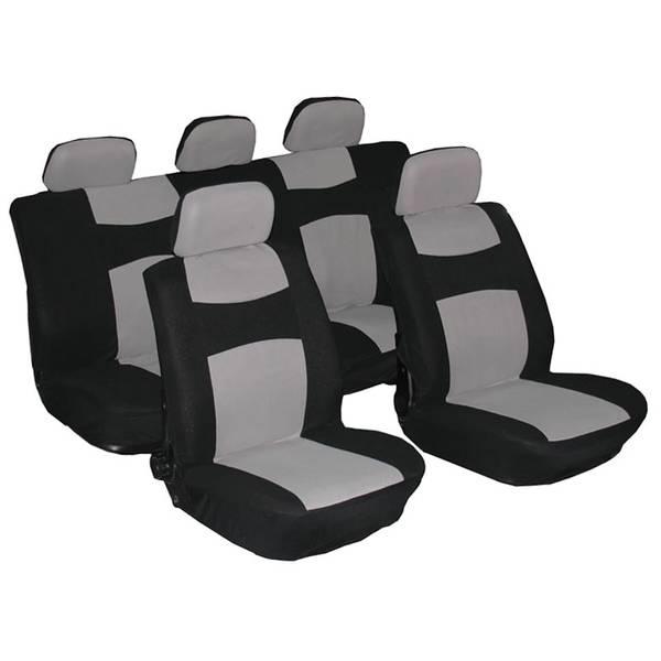 Black & Gray Somerset Full Seat Cover Set