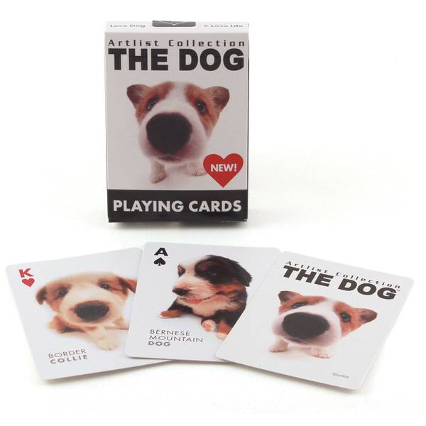 The Dog Artlist Collection Playing Cards