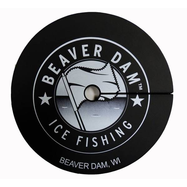 Beaver dam ice fishing hole cover for Ice fishing hole covers