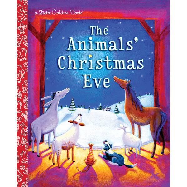 Animals' Christmas Eve Little Golden Book