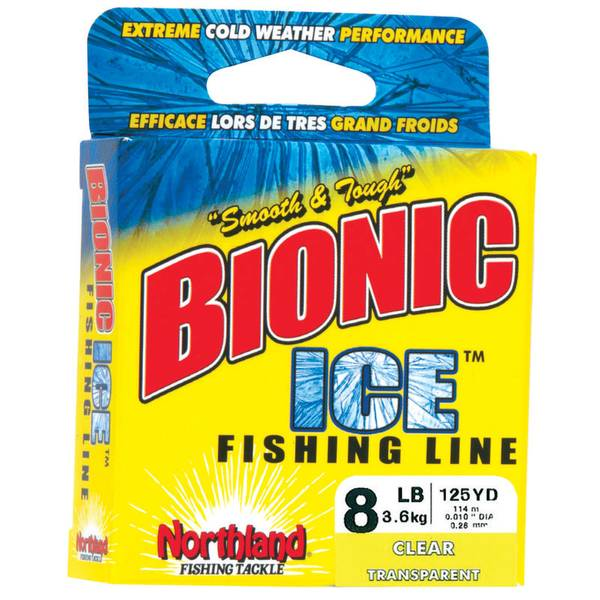 Northland bionic clear ice fishing line for Ice fishing line