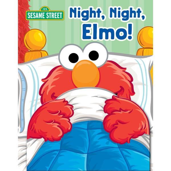 Sesame Street: Night, Night, Elmo! Book