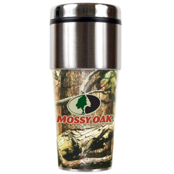 16oz Stainless Camouflage Travel Tumbler