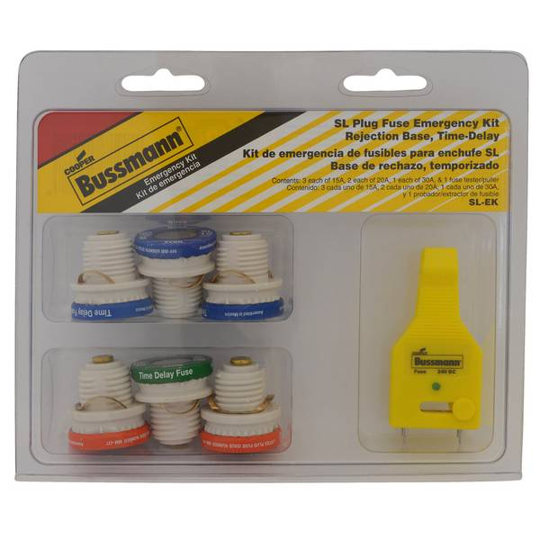 SL Plug Fuse Emergency Kit