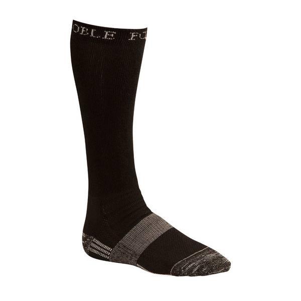 Black The Best Dang Over the Calf Boot Socks