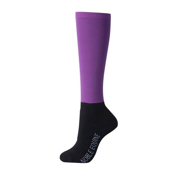 Women's Solid Color Over the Calf Peddies Boot Socks