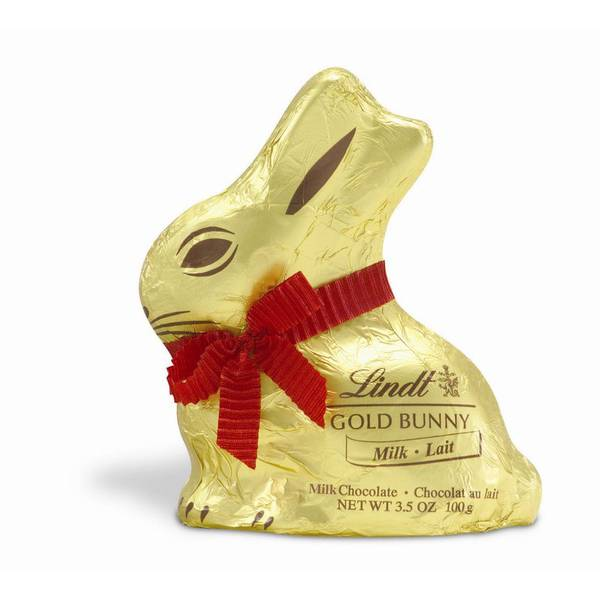 Gold Milk Chocolate Bunny Candy