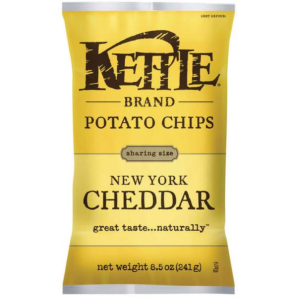 New York Cheddar Potato Chips