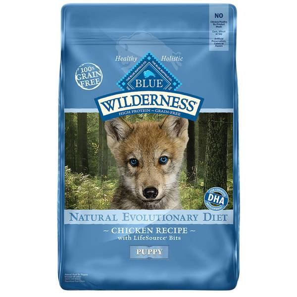 11 lb Grain Free Chicken Natural Evolutionary Diet Puppy Food