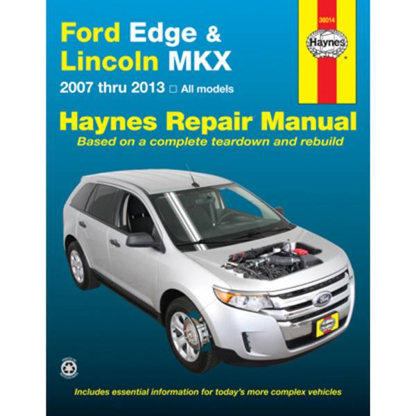 Ford Edge & Lincoln MKX, '07-'13 Manual