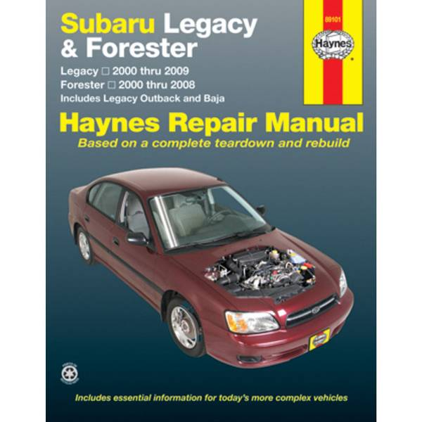 Subaru Legacy (00-09) & Forester (00-08) Manual